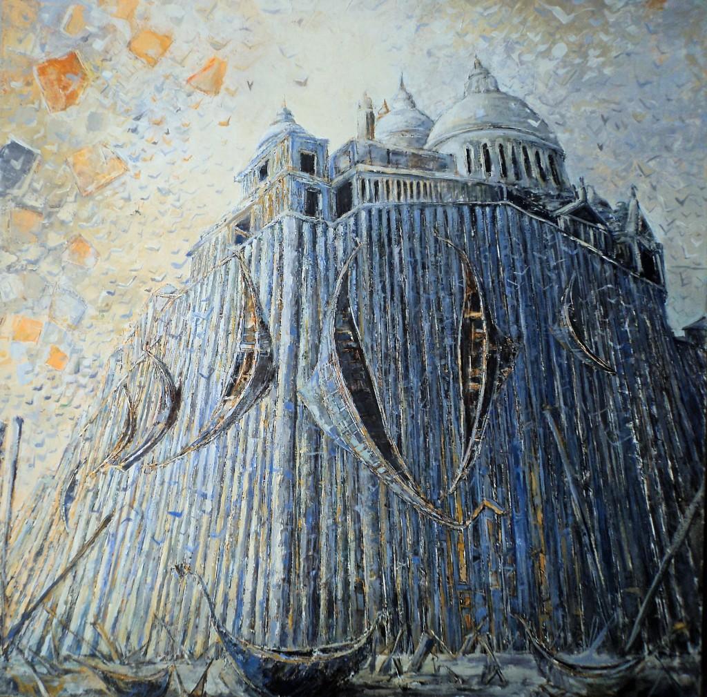 BASILIQUE ST MARC Venise la grande secheresse100X100